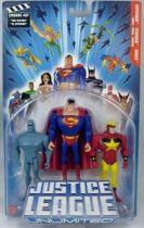 Justice League Unlimited - Amazo, Superman, Starman