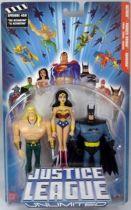 Justice League Unlimited - Aquaman, Wonder Woman, Batman