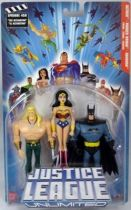 Justice League Unlimited - Aquaman, Wonder Woman, Batman