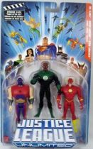 Justice League Unlimited - Atom Smasher, Green Lantern, The Flash