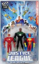 Justice League Unlimited - The Flash, Green Lantern, Red Tornado