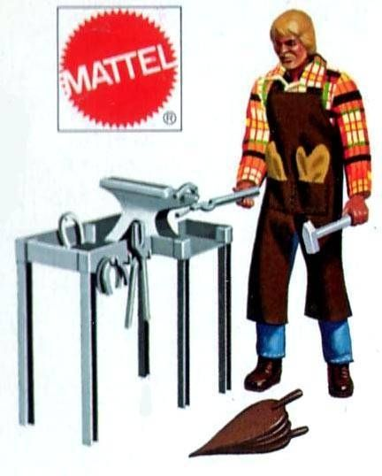 Karl May - Blacksmith outfit (ref.2182) Mint in box