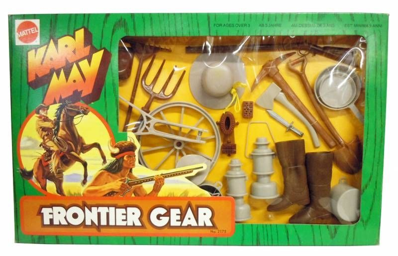 Karl May - Farmer Frontier gear outfit (ref.2175) Mint in box