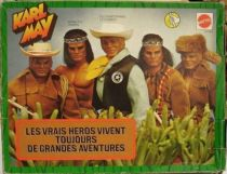 Karl May - Mint in box  Winnetou with outfits gift-set
