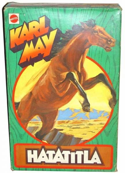 Karl May - Mint in box Hatatitla brown horse (ref 7384)