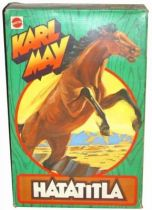 Karl May - Mint in box Hatatitla brown horse (ref 7384)