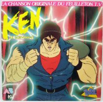 Ken le Survivant - Disque 45Tours - Bande Originale du feuilleton Tv - AB Kids 1989