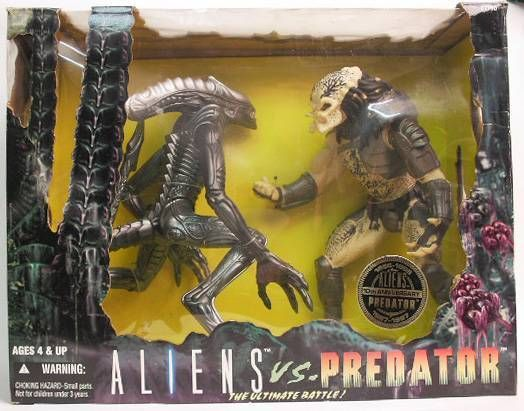 Kenner - Alien vs Predator 12 inches figures