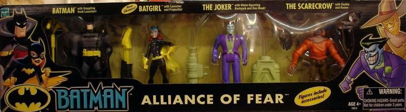 Kenner - Batman The Animated Series - 4 figures gift pack \'\'Alliance of Fear\'\'