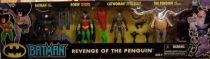 Kenner - Batman The Animated Series - 4 figures gift pack \'\'Revenge of the Penguin\'\'