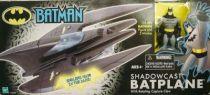 Kenner Hasbro - Batman The Animated Series - Shadowcast Batplane with Batman