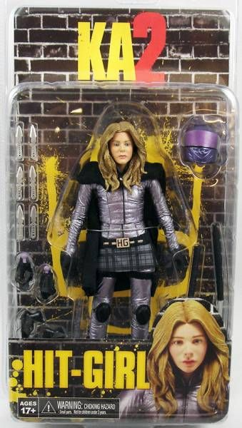 Kick-Ass 2 - NECA - Mindy Macready \'\'Hit-Girl\'\' (unmasked)