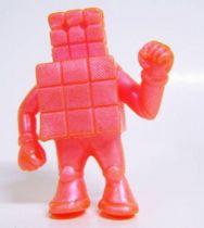 Kinnikuman (M.U.S.C.L.E.) - Mattel - #024 Cubeman (fushia)