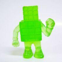 Kinnikuman (M.U.S.C.L.E.) - Mattel - #024 Cubeman (transparent green)
