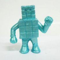Kinnikuman (M.U.S.C.L.E.) - Mattel - #024 Cubeman (turquoise)