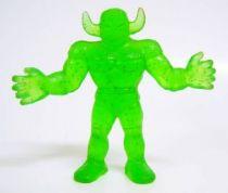Kinnikuman (M.U.S.C.L.E.) - Mattel - #049 Black Shadow (spangled transparent green)