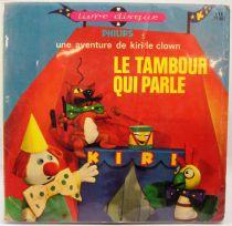Kiri le Clown - Livre-disque 45T - Le tambour qui parle - Philips 1967