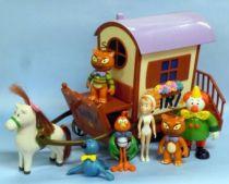 Kiri the Clown - Lansay - Kiri, its caravan & his friends