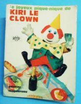 Kiri the Clown - Mini-Comics Gautier-Languereau Editions ORTF 1966 The merry picnic of Kiri the Clown
