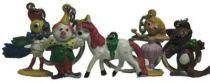 Kiri the Clown - Set of 5 figures Key holder