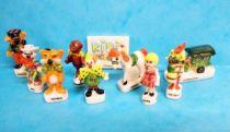 Kiri the Clown - Set of Ceramic figures