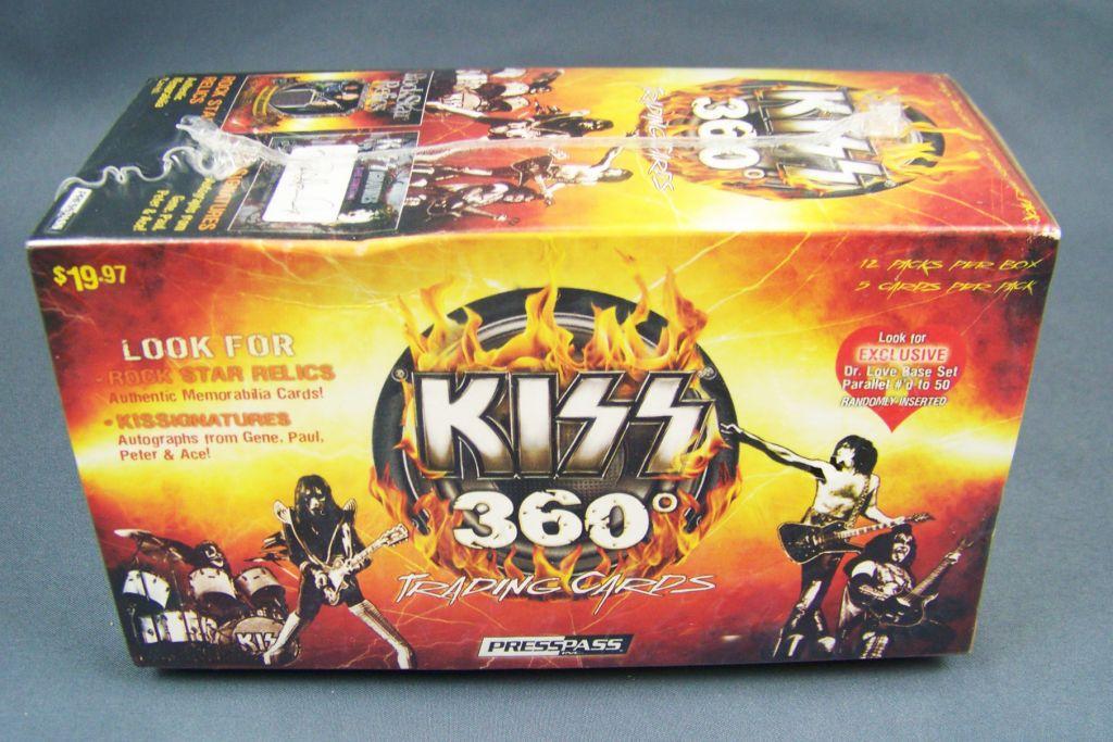KISS 360` - Trading Cards Press Pass 2009 - Set de 90 cartes 01