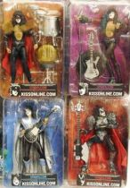 KISS Creatures - Set of 4 McFarlane figures