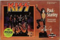 KISS Destroyer - Set of 4 Polar Lights model kits