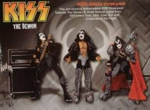 KISS The Demon - Gene Simmons 3 figures boxed set - McFarlane