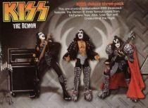 KISS The Demon - Gene Simmons 3 figures boxed set - McFarlane