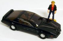Knight Rider Pontiac Transam \'\'KITT\'\' with figure - Corgi (loose)