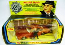 Kojak - Corgi Ref.290 - Buick Le Sabre & figure (without hat version) Mint in Box