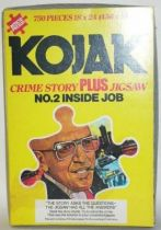 Kojak - Game Puzzle & Crime story n°2 Inside Job - Loose with box