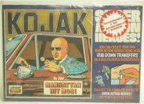 Kojak - Transfers décalcos Manhattan Hit Mob - Mint in package