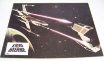 Krieg der Sterne (Star Wars) - Lobby Card (1977) - L\'attaque de l\'Etoile Noire