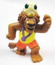 L\'Apprentie Sorcière - Figurine pvc Bully - Dribble Boys Roi Leonidas Lion