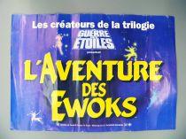 L\'Aventure des Ewoks - 20th Century Fox France - Affiche préventes du Film (1985)