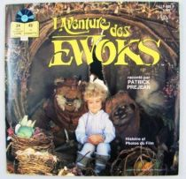 L\'Aventure des Ewoks - Livre-Disque 45t - Disques Ades 1985