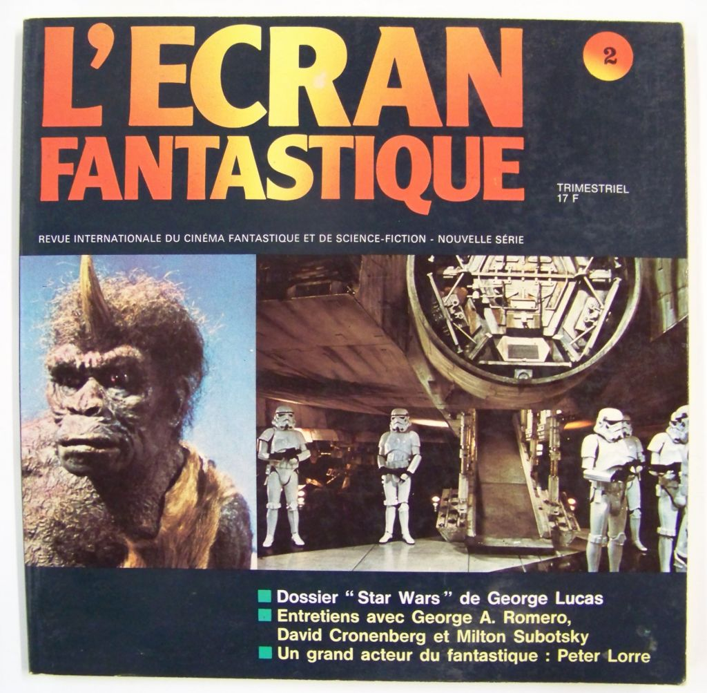 L\'Ecran Fantastique n°2 - Dossier Star Wars de George Lucas - 1977 01