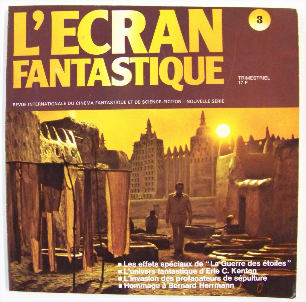 L\'Ecran Fantastique n°3 - Les effets spéciaux de La Guerre des Etoiles - 1977 01