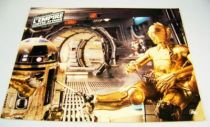 L\'Empire Contre-Attaque (1980) - Lobby Card - R2-D2 & C-3PO