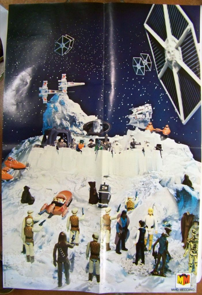 L\'Empire contre-attaque 1981 - Miro-Meccano - Catalogue-Poster 02