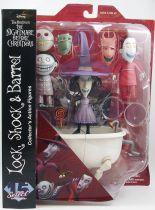 L\'Etrange Noël de Mr Jack - Diamond Select - Lock, Shock & Barrel