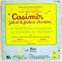 L\\\'Ile aux Enfants - Casimir - Mini-LP Record - Julie and the postman sings... - Ades Records/TF1 1976