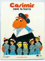 L\'Ile aux Enfants - Edition G. P. Rouge et Or - Casimir tient la barre