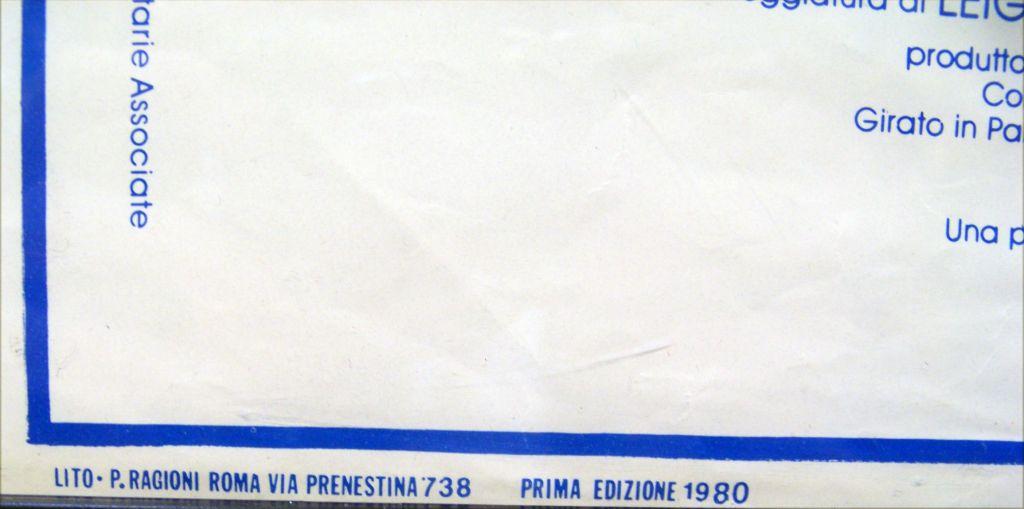 L\'Impero Colpisce Ancora 1980 - Affiche italienne (33x70cm) 02