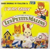L\'Ours Gabby et les Petits Malins - Disque 45Tours - Bande Originale Série Tv - Disques Ades 1987