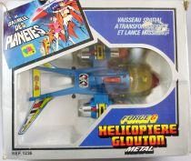 La Bataille des Planètes (Gatchaman) - Ceji Arbois - Swallow Helico/Helicoptère Glouton de Kipo