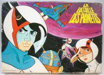 """La Bataille des Planètes (Gatchaman) - Multiprint - Boite de 12 tampons-encreurs \""""La Bataille des Planètes\"""""""