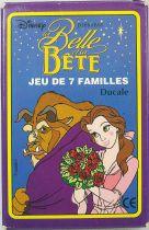 La Belle et la Bête - Jeu de 7 familles - Ducale
